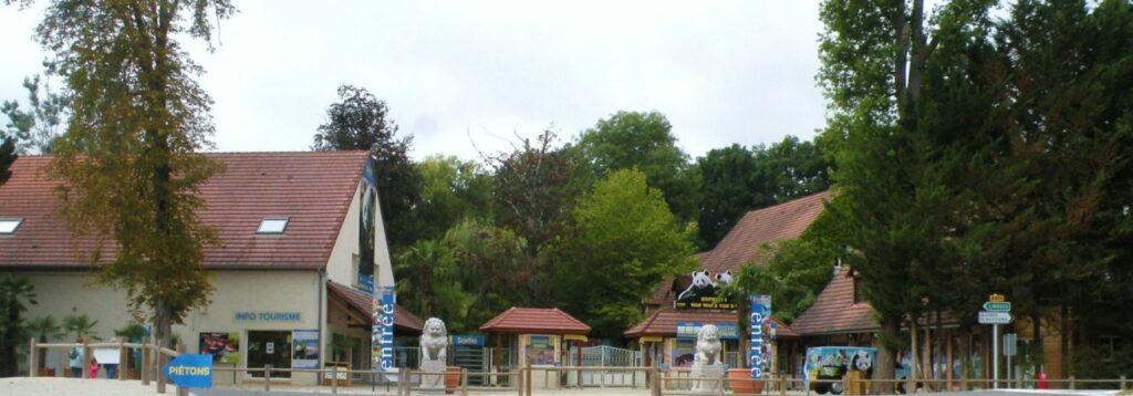 entrée zoo de Beauval